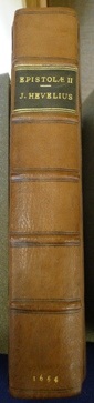 Spine of Whipple's Hevelius volume